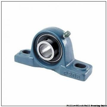 1.188 Inch | 30.175 Millimeter x 1.5 Inch | 38.1 Millimeter x 2 Inch | 50.8 Millimeter  Sealmaster SP-19 Pillow Block Ball Bearing Units